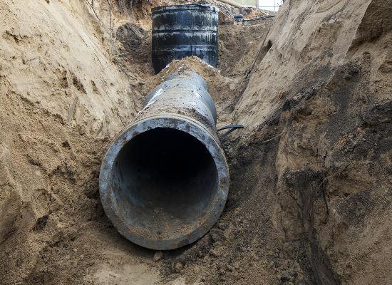 drainage work newark 1